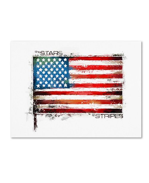 "Trademark Global The Macneil Studio 'Stars and Stripes' Canvas Art - 24"" x 32"""