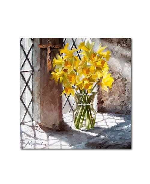 "Trademark Global The Macneil Studio 'Church Window' Canvas Art - 24"" x 24"""