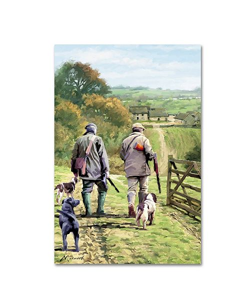 "Trademark Global The Macneil Studio 'Gamekeepers' Canvas Art - 22"" x 32"""