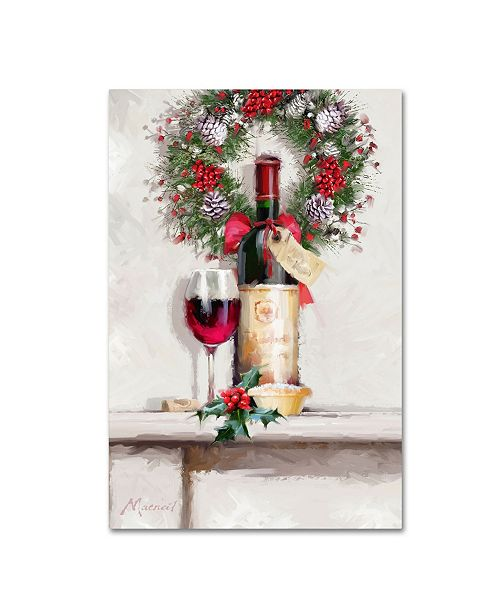 "Trademark Global The Macneil Studio 'Red Wine' Canvas Art - 30"" x 47"""