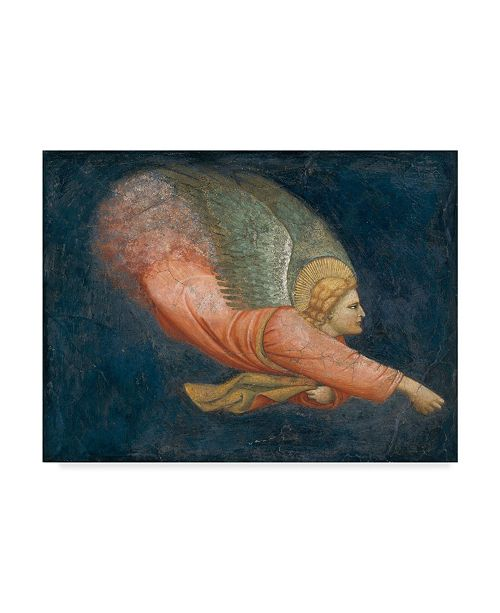 "Trademark Global Italian School 'Angel' Canvas Art - 35"" x 47"""