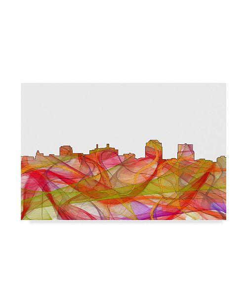 "Trademark Global Marlene Watson 'Colorado Springs Skyline' Canvas Art - 30"" x 47"""
