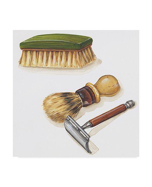 """Trademark Global Lisa Audit 'Shaving Kit' Canvas Art - 24"""" x 24"""""""