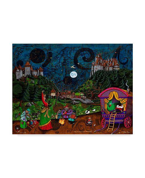 "Trademark Global Jake Hose 'The Romanian Gypsy Princess' Canvas Art - 24"" x 32"""