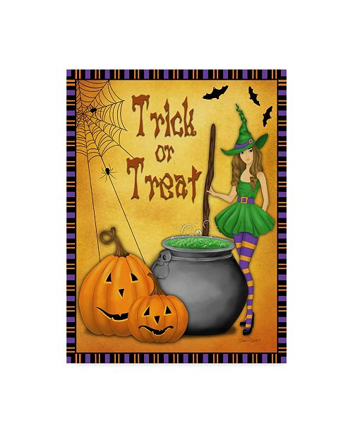 """Trademark Global Jean Plout 'Trick Or Treat' Canvas Art - 24"""" x 32"""""""