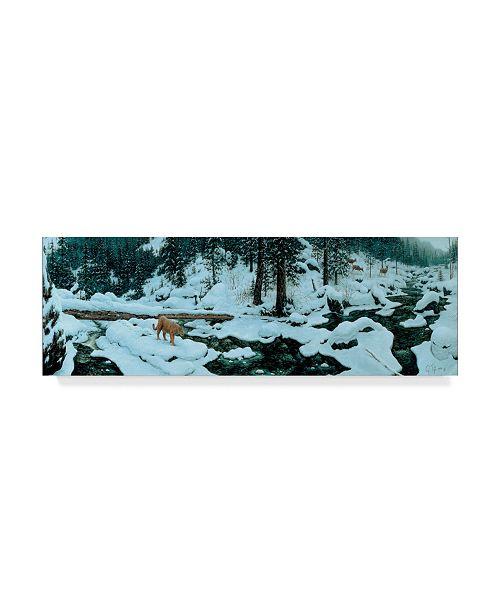 """Trademark Global Jeff Tift 'First Alert' Canvas Art - 8"""" x 24"""""""