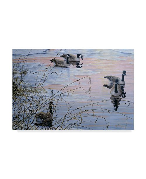 "Trademark Global Jeff Tift 'Sunset Serenity' Canvas Art - 22"" x 32"""