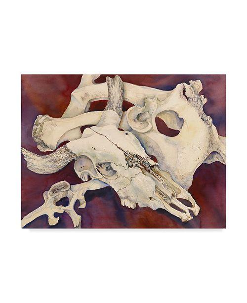 "Trademark Global Joanne Porter 'Remnants' Canvas Art - 24"" x 32"""