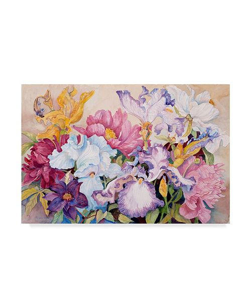 "Trademark Global Joanne Porter 'Springs Rainbow' Canvas Art - 22"" x 32"""