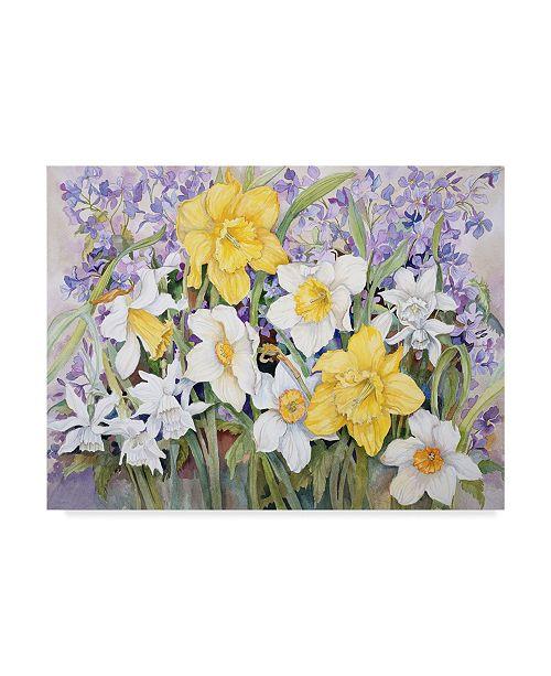 "Trademark Global Joanne Porter 'Early Spring' Canvas Art - 24"" x 32"""