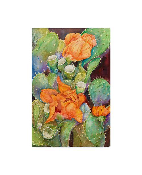 """Trademark Global Joanne Porter 'Desert Blooms' Canvas Art - 30"""" x 47"""""""