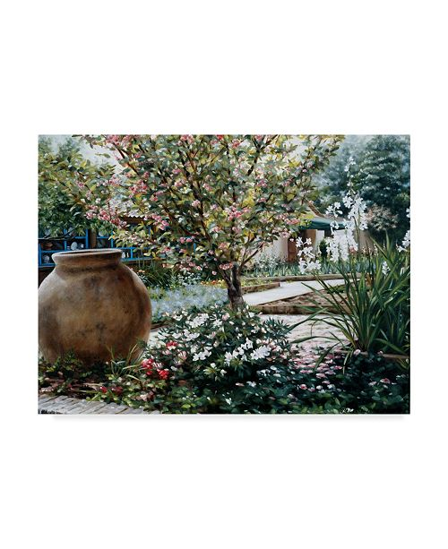 "Trademark Global Robin Anderson 'The Cottage' Canvas Art - 35"" x 47"""