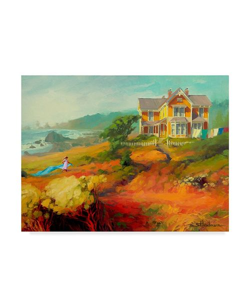 "Trademark Global Steve Henderson 'Wild Child' Canvas Art - 35"" x 47"""