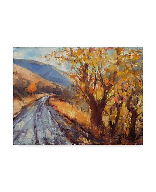 "Trademark Global Steve Henderson 'After An Autumn Rain' Canvas Art - 35"" x 47"""