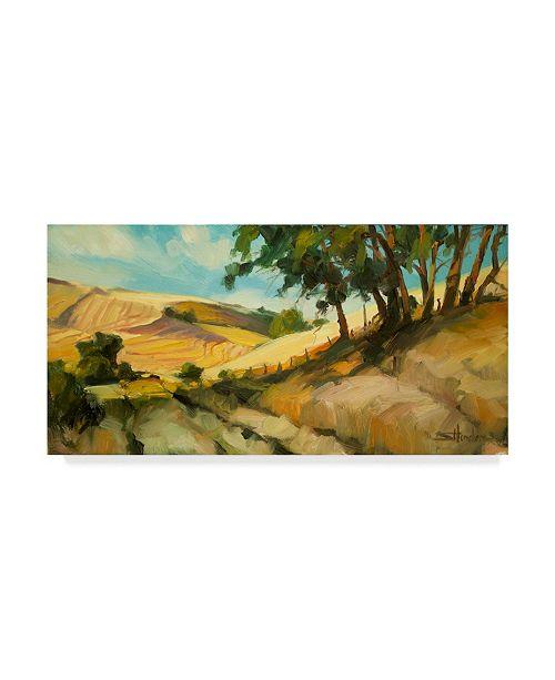 "Trademark Global Steve Henderson 'August' Canvas Art - 24"" x 47"""