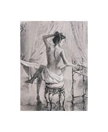 "Steve Henderson 'After The Bath' Canvas Art - 35"" x 47"""