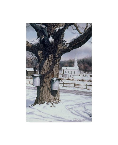 "Trademark Global William Breedon 'Valley Motif' Canvas Art - 22"" x 32"""