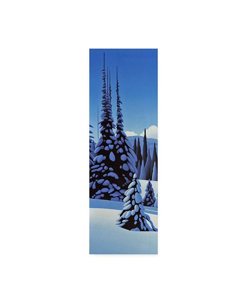 "Trademark Global Ron Parker 'Alpine Winter' Canvas Art - 6"" x 19"""