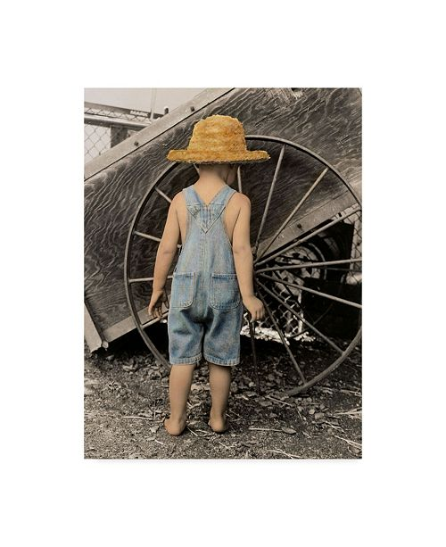 """Trademark Global Sharon Forbes 'Discovering The Wheel' Canvas Art - 24"""" x 32"""""""
