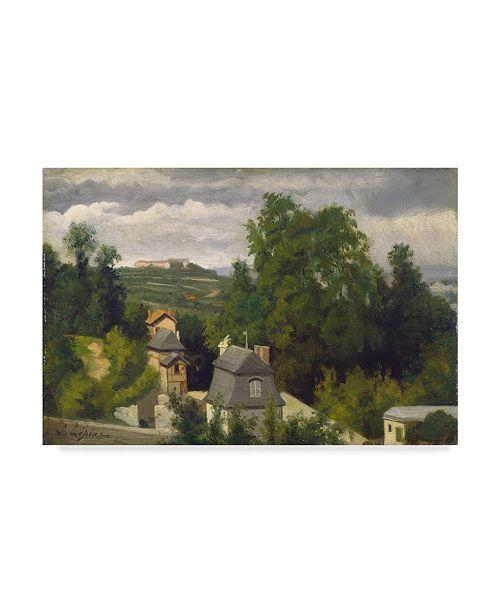 "Trademark Global Stanislas Victor Edouard Lepine 'The Outskirts Of Caen' Canvas Art - 24"" x 16"""