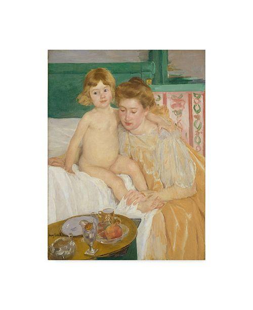"Trademark Global Mary Stevenson Cassatt 'Mother And Child' Canvas Art - 47"" x 35"""