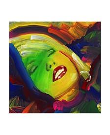 """Howie Green 'Debbie Harry' Canvas Art - 35"""" x 35"""""""