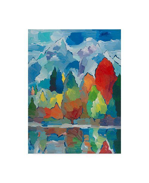 "Trademark Global Hooshang Khorasani 'Teton Tribute' Canvas Art - 35"" x 47"""