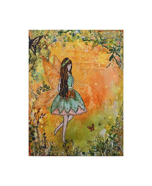 "Trademark Global Janelle Nichol 'The Spring Fairy' Canvas Art - 35"" x 47"""