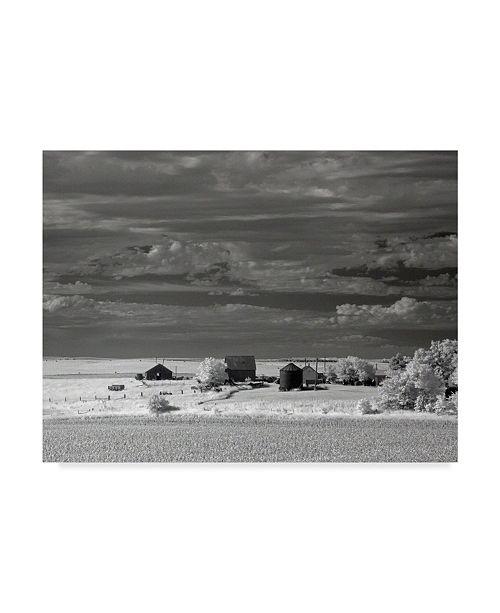 "Trademark Global J.D. Mcfarlan 'Nebraska Farm' Canvas Art - 47"" x 35"""