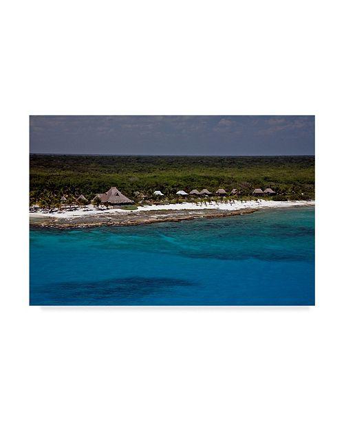 "Trademark Global J.D. Mcfarlan 'Belize 2' Canvas Art - 32"" x 22"""