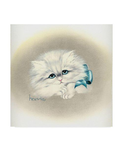 "Trademark Global Peggy Harris 'Bluer Than Blue' Canvas Art - 35"" x 35"""