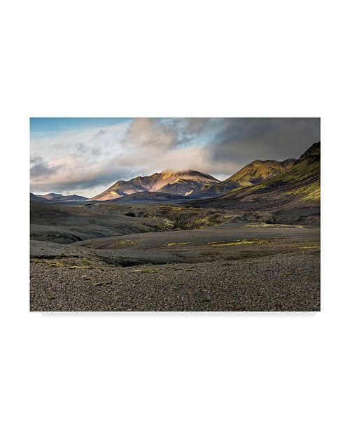 "Trademark Global Maciej Duczynski 'Iceland Landscape 12' Canvas Art - 32"" x 22"""