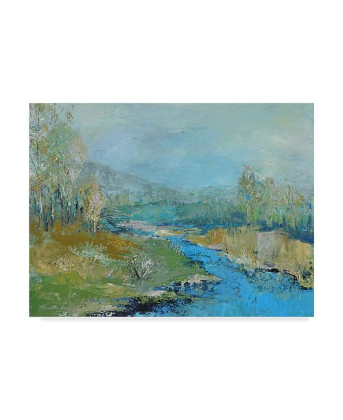 "Trademark Global Marietta Cohen Art And Design 'River Painting' Canvas Art - 32"" x 24"""