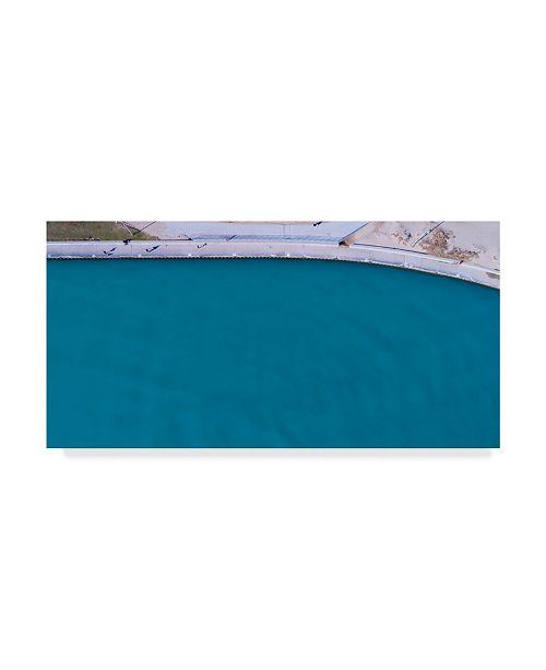 "Trademark Global Njr Photos 'Deep Water Coast' Canvas Art - 47"" x 24"""