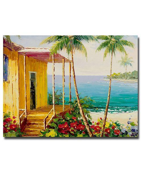 "Trademark Global Rio 'Key West Villa' Canvas Art - 24"" x 18"""