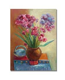 "Rio 'Spring Flowers' Canvas Art - 47"" x 35"""