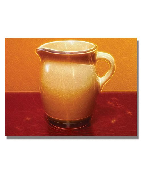 "Trademark Global Kathie McCurdy 'Pitcher' Canvas Art - 47"" x 35"""