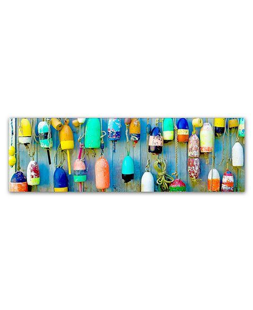 "Trademark Global Preston 'Floaters' Canvas Art - 6"" x 19"""