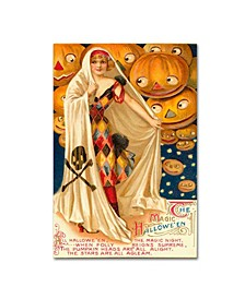 "Vintage Apple Collection 'Halloween Nine' Canvas Art - 12"" x 19"""