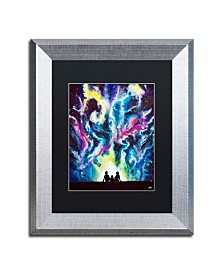 "Marc Allante 'Stardust' Matted Framed Art - 11"" x 14"""