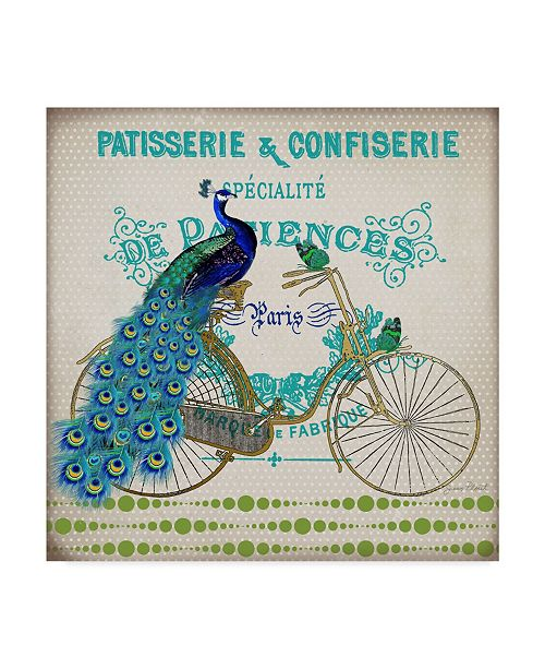 """Trademark Global Jean Plout 'Patisserie And Confiserie' Canvas Art - 14"""" x 14"""""""
