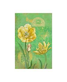 "Maria Rytova 'Spring Flowers I' Canvas Art - 12"" x 19"""