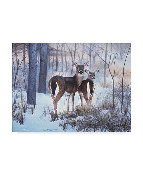 "Trademark Global Rusty Frentner 'Hindsight' Canvas Art - 14"" x 19"""