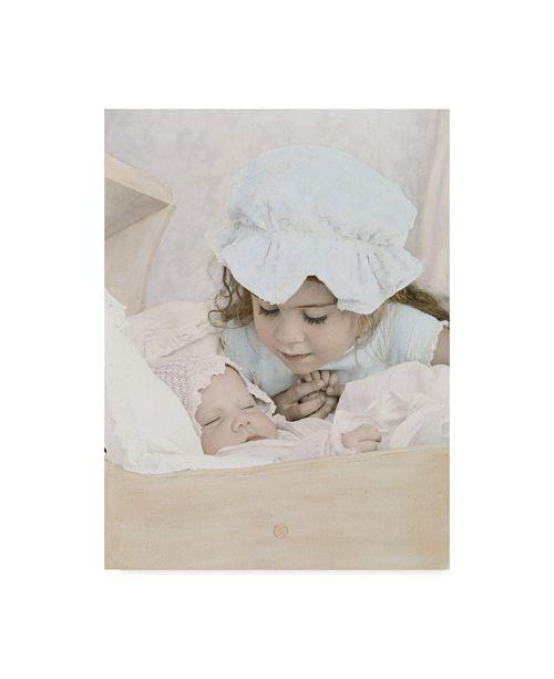 "Trademark Global Sharon Forbes 'Guardian Angel' Canvas Art - 14"" x 19"""