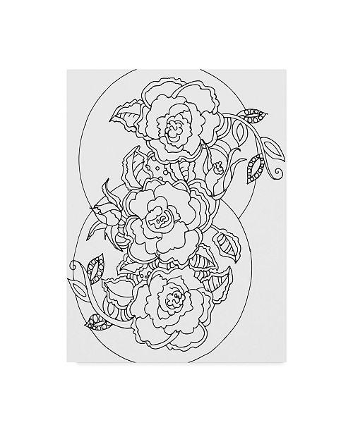 "Trademark Global Valarie Wade 'Roses' Canvas Art - 14"" x 19"""
