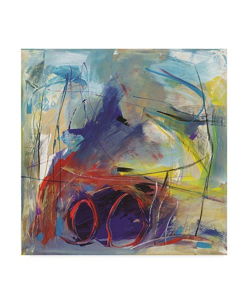 "Trademark Global Shana Dominguez 'Banding Together' Canvas Art - 14"" x 14"""