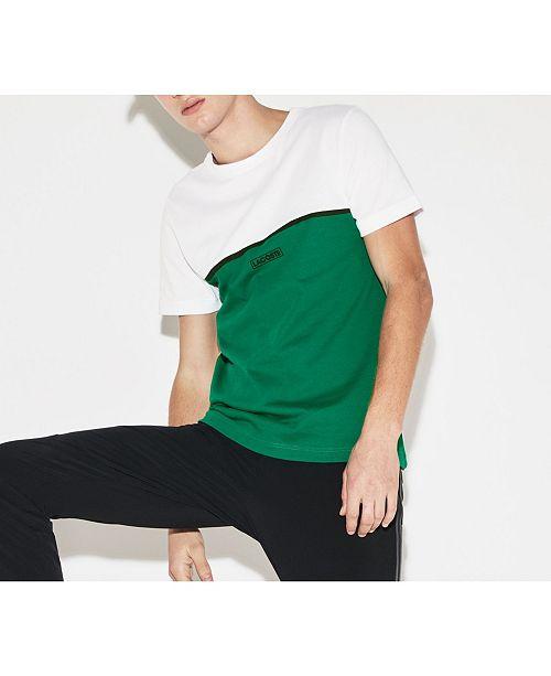 Lacoste Men's Sport Colorblocked Performance T-Shirt