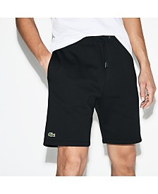 Lacoste Men's Sport Big Logo Fleece Short