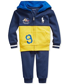 Polo Ralph Lauren Baby Boys Cotton French Terry Hoodie & Pants Set