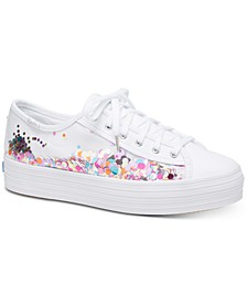 Triple Kick Confetti Sneakers